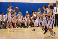 5452 McM Boys Varsity Basketball v Klahowya 112612
