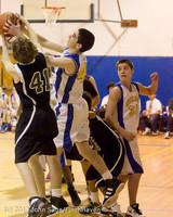 6066 McM Boys Varsity Basketball v Klahowya 112612