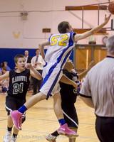 6112 McM Boys Varsity Basketball v Klahowya 112612