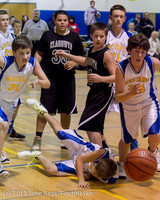 6693 McM Boys Varsity Basketball v Klahowya 112612