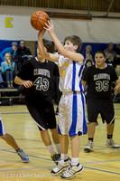 6791 McM Boys Varsity Basketball v Klahowya 112612