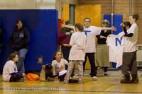 5691 McM Girls Varsity Basketball Mustangs Spirit 2013