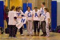 5706 McM Girls Varsity Basketball Mustangs Spirit 2013