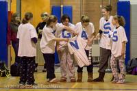 5708 McM Girls Varsity Basketball Mustangs Spirit 2013