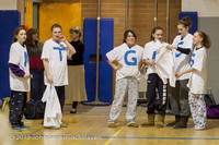 5717 McM Girls Varsity Basketball Mustangs Spirit 2013