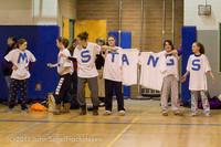 5777 McM Girls Varsity Basketball Mustangs Spirit 2013