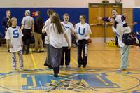 5876 McM Girls Varsity Basketball Mustangs Spirit 2013