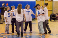 5879 McM Girls Varsity Basketball Mustangs Spirit 2013