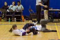 5881 McM Girls Varsity Basketball Mustangs Spirit 2013