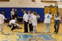 5889 McM Girls Varsity Basketball Mustangs Spirit 2013