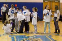 5894 McM Girls Varsity Basketball Mustangs Spirit 2013