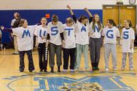 5903 McM Girls Varsity Basketball Mustangs Spirit 2013