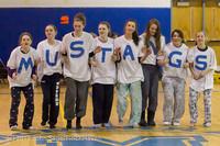 5920 McM Girls Varsity Basketball Mustangs Spirit 2013