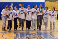 5936 McM Girls Varsity Basketball Mustangs Spirit 2013