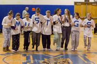 5939 McM Girls Varsity Basketball Mustangs Spirit 2013