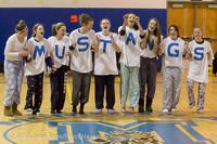 5950 McM Girls Varsity Basketball Mustangs Spirit 2013