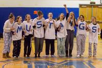 5952 McM Girls Varsity Basketball Mustangs Spirit 2013