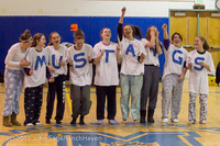 5955 McM Girls Varsity Basketball Mustangs Spirit 2013