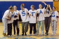 5962 McM Girls Varsity Basketball Mustangs Spirit 2013
