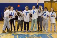 5964 McM Girls Varsity Basketball Mustangs Spirit 2013