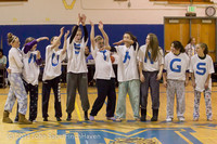 5968 McM Girls Varsity Basketball Mustangs Spirit 2013