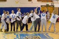 5975 McM Girls Varsity Basketball Mustangs Spirit 2013