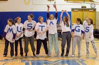 5981 McM Girls Varsity Basketball Mustangs Spirit 2013