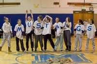 5987 McM Girls Varsity Basketball Mustangs Spirit 2013
