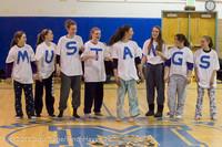 5998 McM Girls Varsity Basketball Mustangs Spirit 2013