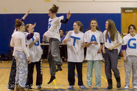 5999 McM Girls Varsity Basketball Mustangs Spirit 2013