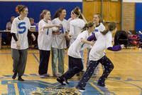 6004 McM Girls Varsity Basketball Mustangs Spirit 2013