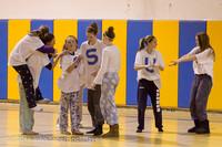 6008 McM Girls Varsity Basketball Mustangs Spirit 2013