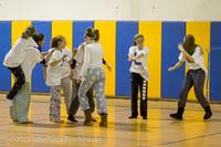 6011 McM Girls Varsity Basketball Mustangs Spirit 2013