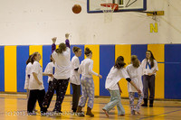 6015 McM Girls Varsity Basketball Mustangs Spirit 2013