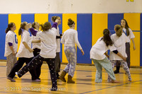 6017 McM Girls Varsity Basketball Mustangs Spirit 2013