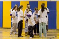 6024 McM Girls Varsity Basketball Mustangs Spirit 2013