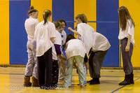 6026 McM Girls Varsity Basketball Mustangs Spirit 2013