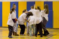 6032 McM Girls Varsity Basketball Mustangs Spirit 2013