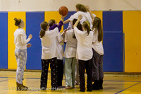 6039 McM Girls Varsity Basketball Mustangs Spirit 2013