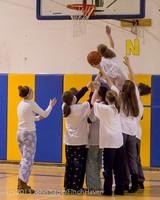 6048 McM Girls Varsity Basketball Mustangs Spirit 2013