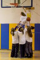 6057 McM Girls Varsity Basketball Mustangs Spirit 2013