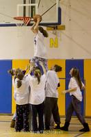 6071 McM Girls Varsity Basketball Mustangs Spirit 2013