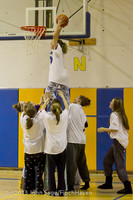 6073 McM Girls Varsity Basketball Mustangs Spirit 2013