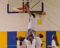 6074 McM Girls Varsity Basketball Mustangs Spirit 2013