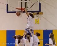 6075 McM Girls Varsity Basketball Mustangs Spirit 2013