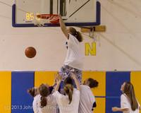 6076 McM Girls Varsity Basketball Mustangs Spirit 2013