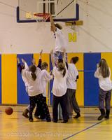 6079 McM Girls Varsity Basketball Mustangs Spirit 2013