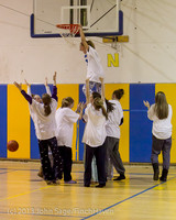 6080 McM Girls Varsity Basketball Mustangs Spirit 2013