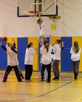 6083 McM Girls Varsity Basketball Mustangs Spirit 2013