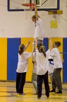 6086 McM Girls Varsity Basketball Mustangs Spirit 2013